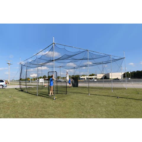 Cimarron Sports 32x32x12 Diamond Deluxe Batting Cage and Frame Corners