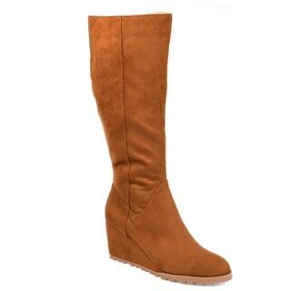 Journee Collection Women's Comfort Parker Boot