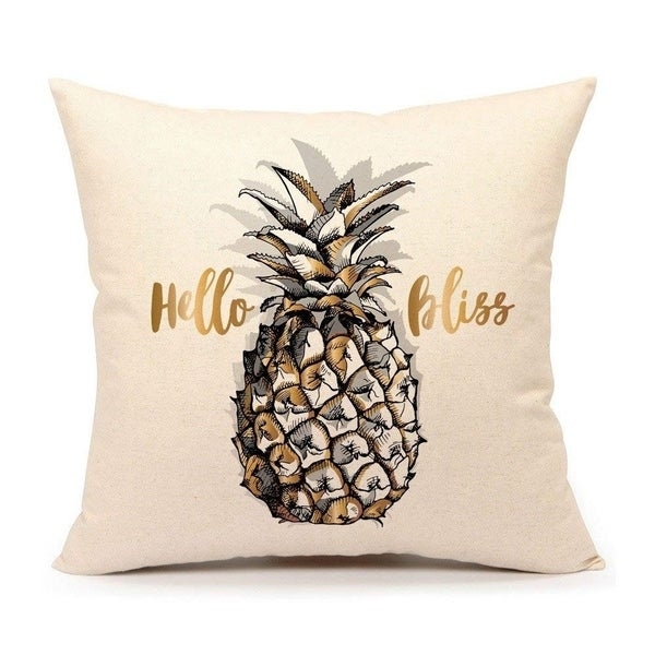 Shop Pillow Case Cushion Cover For Sofa Couch 18 X 18 Inch Cotton