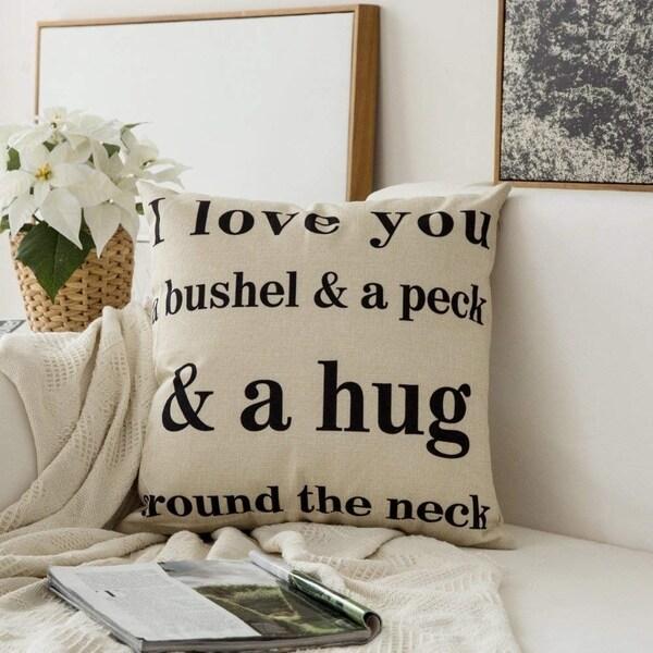 Shop I Love You A Bushel Amp A Peck Amp A Hug Around The Neck
