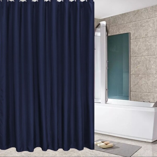 Shop Fabric Shower Curtain Mildew Resistant And Waterproof Shower