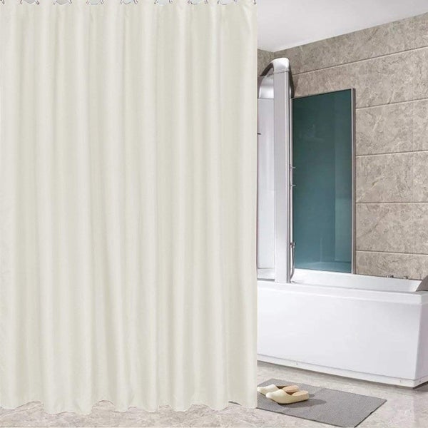 Shop Water Repellent Anti Mildew Bathroom Hotel Fabric Shower Curtain