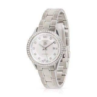 Pre-Owned Tag Heuer Carrera WV2413 Women's Watch in Stainless Steel