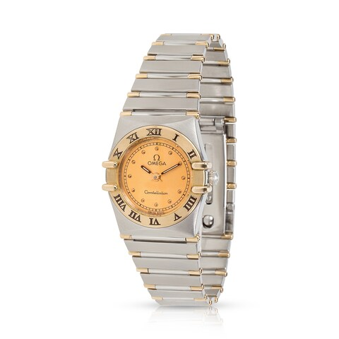 Pre-Owned Omega Constellation 795.1080 Women's Watch in 18kt Yellow Gold/Steel