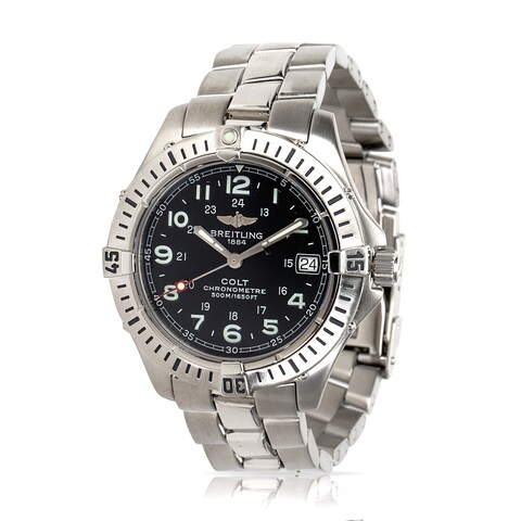Pre-Owned Breitling Colt A74350 Unisex Watch in Stainless Steel