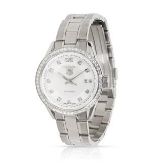 Pre-Owned Tag Heuer Carrera WV2413.BA0793 Women's Watch in Stainless Steel