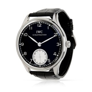 Pre-Owned IWC Portuguese IW5454-04 Men's Watch in Stainless Steel - N/A - N/A