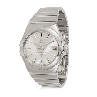 Pre-Owned Omega Constellation 123.10.38.21.02.001 Men's Watch in Stainless Steel