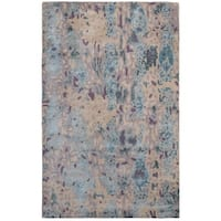 Unbelievable Mats 3' x 5' Soft Canvas Wool and Viscose Rug - 3' x 5'