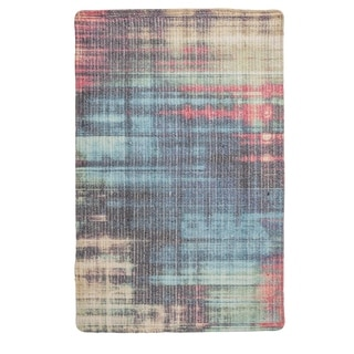 """Unbelievable Mats 20"""" x 32"""" Abstract Faded  Accent Rug - 20"""" x 32"""""""