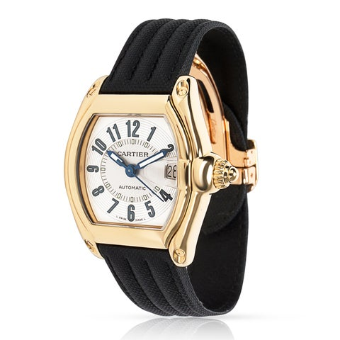 Pre-Owned Cartier Roadster 2524 Men's Watch in 18kt Yellow Gold - N/A - N/A