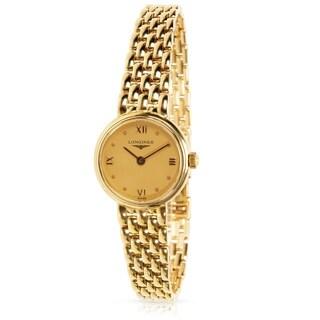 Pre-Owned Longines Prestige L6. 107.6 Women's Watch in Yellow Gold