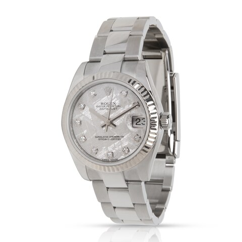 Pre-Owned Rolex Datejust 178274 Women's Watch in 18kt Stainless Steel/White Gold