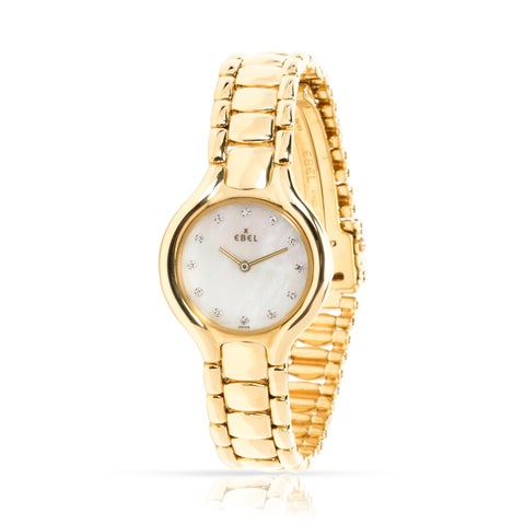 Pre-Owned Ebel Beluga 866960 Women's Watch in 18kt Yellow Gold