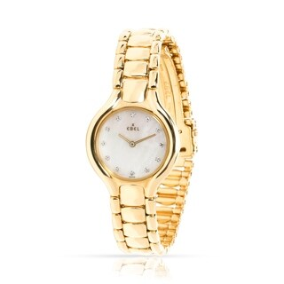 Pre-Owned Ebel Beluga 866960 Women's Watch in 18kt Yellow Gold