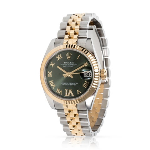 Pre-Owned Rolex Datejust 178273 Unisex Watch in 18kt Yellow Gold/Steel