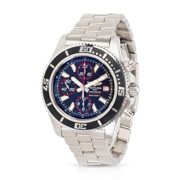 e9663661b0b Pre-Owned Breitling Superocean Chrono II A1334102 BA81 Men  x27 s Watch