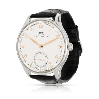 Pre-Owned IWC Portuguese IW5454-8 Men's Watch in Stainless Steel - N/A - N/A