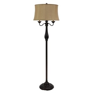 Abigail 6-Way Candle-Style Floor Lamp