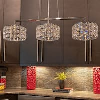 Cosette Crystal Three-light Island Pendant