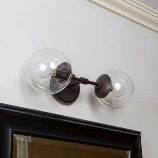 Gideon 2-Light Globe Wall Sconce