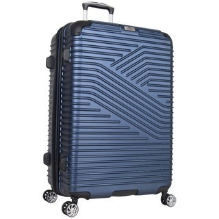 Ben Sherman Bangor 28-Inch Hardside PET Expandable Spinner Suitcase