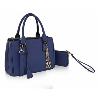 MKF Collection Adrienne Satchel with Wallet by Mia K Farrow