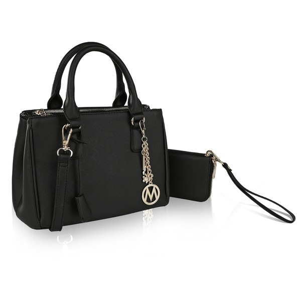 3047a38e8bc4 Shop MKF Collection Adrienne Satchel with Wallet by Mia K Farrow ...