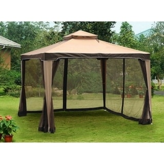 Sunjoy Replacement Canopy set for L-GZ513PST 10X10 Hb - Chatam Gazebo (As Is Item)