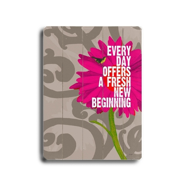 every day offers - Planked Wood Wall Decor by Lisa Weedn
