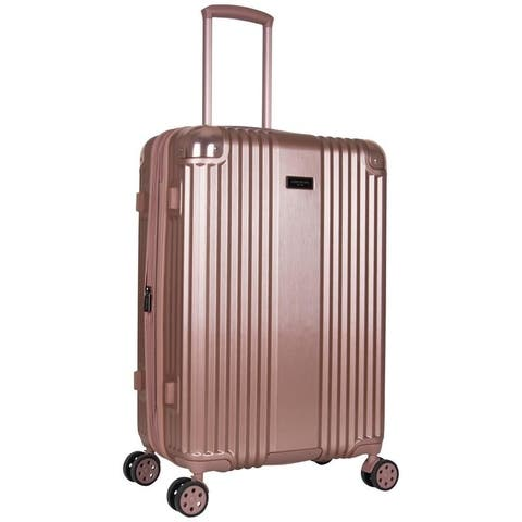 Kenneth Cole Tribeca 24-inch Lightweight Hardside Expandable 8-Wheel Spinner Checked Suitcase With TSA Lock