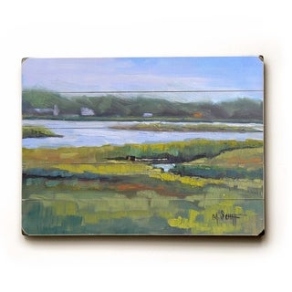 Waterway -   Planked Wood Wall Decor by Carol Schiff