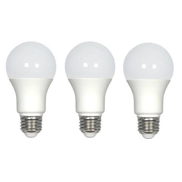 Aspen Brands 9 Watt White All Purpose LED Light Bulb 3 Pack Set