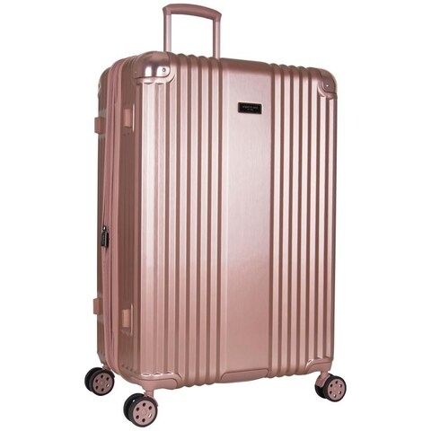 Kenneth Cole 28-inch Lightweight Hardside Expandable 8-Wheel Spinner Checked Suitcase With TSA Lock