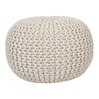 Link to Lola Round Lurex Pouf Similar Items in Ottomans & Storage Ottomans