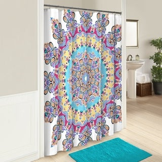 Boho Boutique Gypsy Rose Shower Curtain