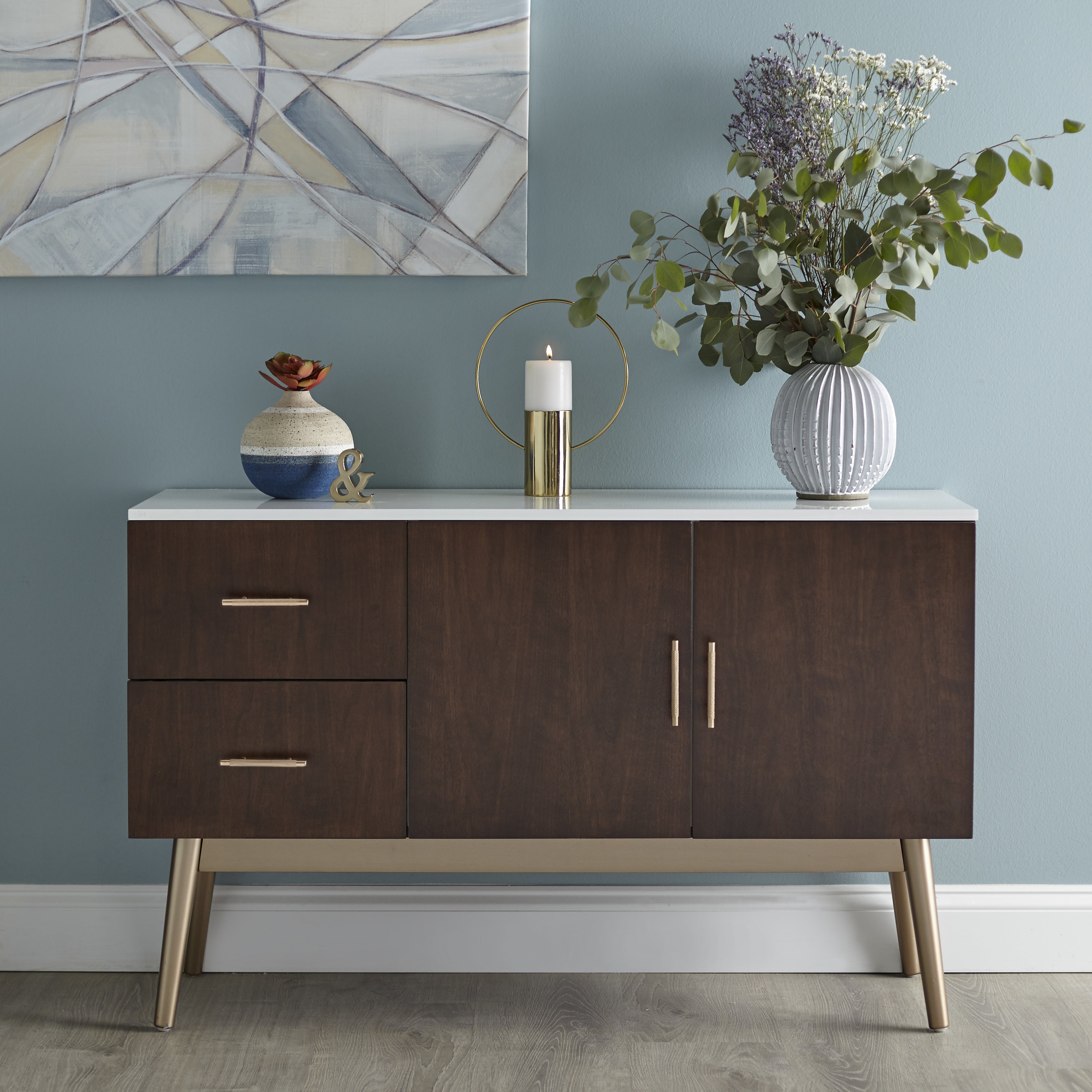 Buy Modern Contemporary Buffets Sideboards China Cabinets Rh Overstock Com  Thaddeus Contemporary Buffet Table Philippine Contemporary