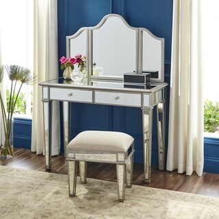 Harper Blvd Kallex Mirrored Vanity Set