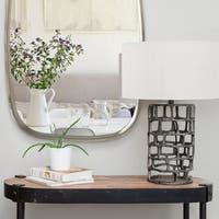 Renwil Norman Charcoal Grey Iron Table Lamp