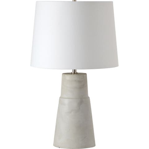 Renwil Seviere Natural Concrete Table Lamp