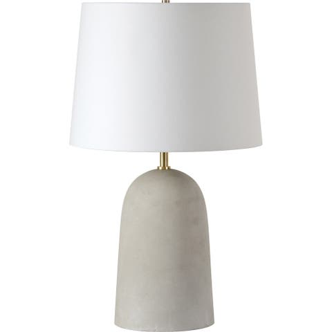 Renwil Tularosa Natural Concrete Table Lamp