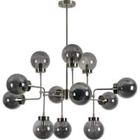 Renwil Minnelli Brushed Nickel Iron Ceiling Fixture