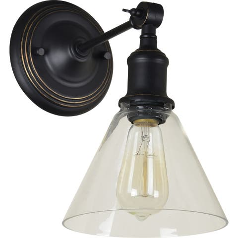 Renwil Fremont Oil Rubbed Bronze Iron Wall Sconce