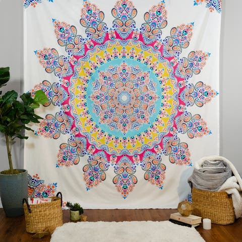 Boho Boutique Gypsy Rose Tapestry - 100x84