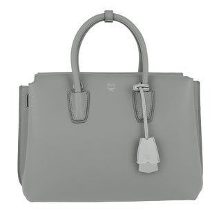 MCM Milla Medium Tote - Arch Grey