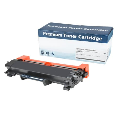 Brother 'TN760' Black Compatible Toner Cartridge (WITH CHIP)