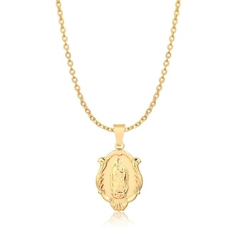 Gold Plated Lupe Pendant