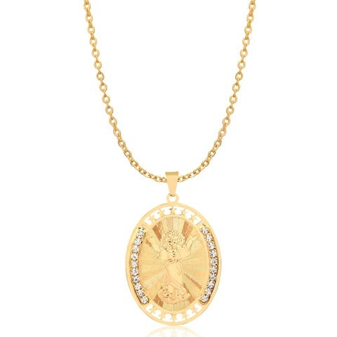 Gold Plated Nino Pendant