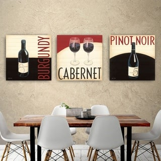ArtWall's Wine Collection I Wood Pallet Set