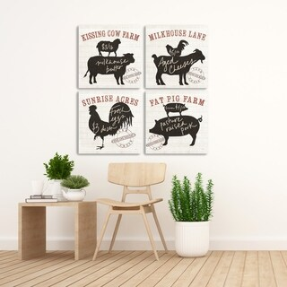 ArtWall's Farmhouse Friends Wood Pallet Set